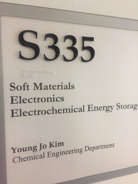 kimlab is in S335 at Kingsbury Hall, UNH